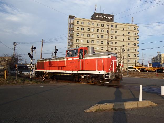 秋田臨海鉄道DE10‐1543単機