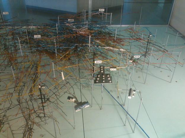 尾去沢鉱山 坑道模型