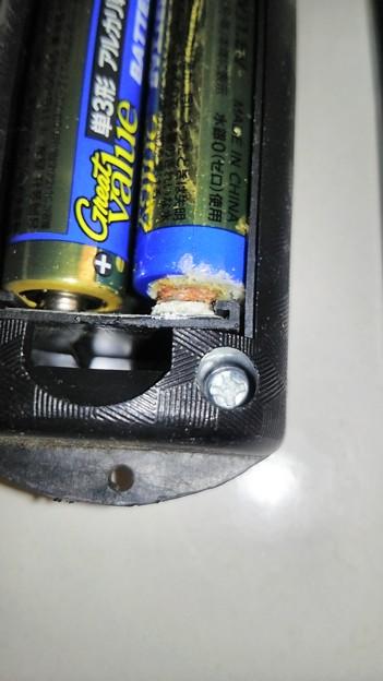 乾電池の液漏れ(その2)
