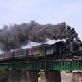 写真: 蒸気機関車