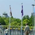 Photos: エアトラックからの大阪城@もりのみやキューズモールBASE