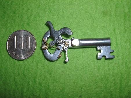 フルスクラッチ 「鍵型 パッカーション ピストル」 右側面 Doburoku-TAO