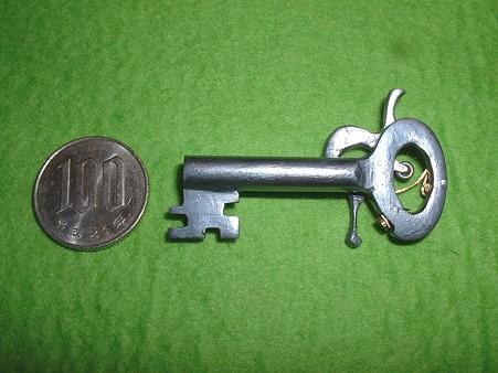 フルスクラッチ 「鍵型 パッカーション ピストル」 左側面 Doburoku-TAO