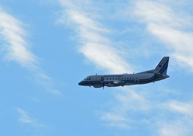 海上保安庁の飛行機