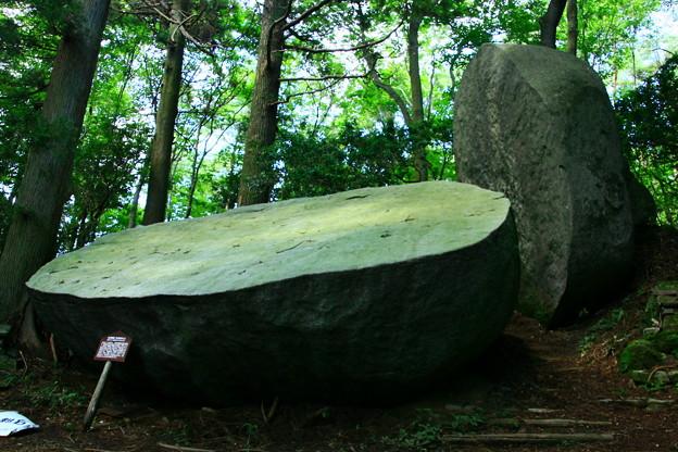 Photos: 125 太刀割石 堅破山
