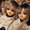 写真: 誠司と玲司