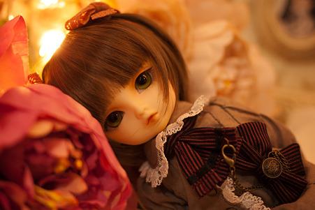 お花と少女