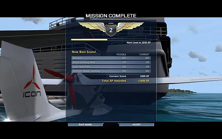Flight score