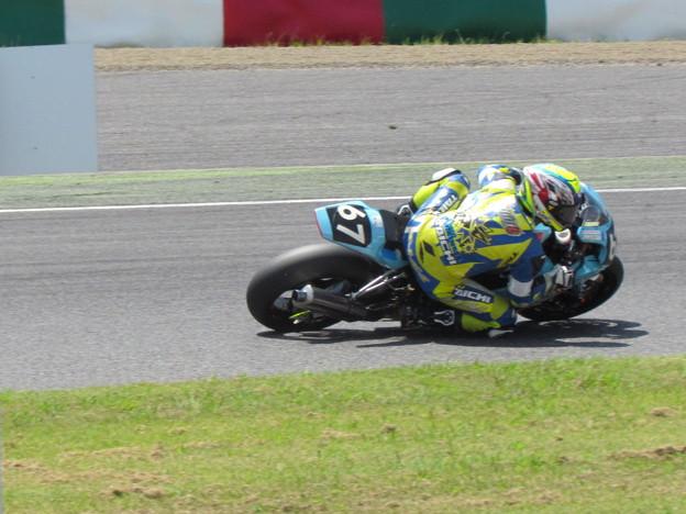 写真: 2014 鈴鹿8耐 Honda DREAM 和歌山 西中綱 岸田尊陽 新庄雅浩 CBR1000RR 63