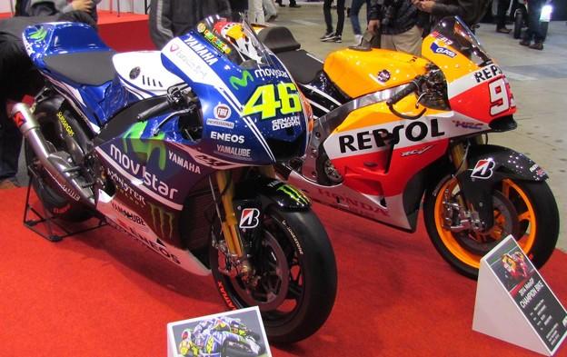2014 YAMAHA YZR-M1 #46 バレンティーノ・ロッシ Valentino Rossi 東京モーターサイクルショー 7