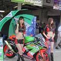 写真: 36  鈴鹿8耐 山科カワサキ ビジネスラリアート 山崎茂 松本正幸 KAWASAKI ZX-10R