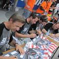 写真: 2014 鈴鹿8耐 TEAM MOTORS EVENTS APRIL MOTO Gregory FASTRE Michael SAVARY Jimmy STORRAR 8