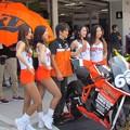 写真: 2014 鈴鹿8耐 Team HOOTERS with 斉藤祥太 大樂竜也 相馬利胤 奥田貴哉 KTM 1190 RC8R  03