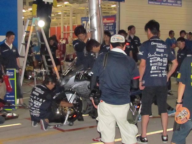 写真: 2014 鈴鹿8耐 Team Favorite Factory 福山京太 木佐森大介 佐合弘幸 40
