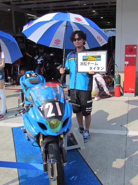 Photos: 2014 鈴鹿8耐 浜松チームタイタン 清水祐生 犬木翼 大城光 SUZUKI GSX-R1000 69