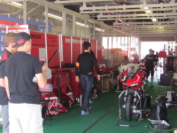 Photos: 2014 鈴鹿8耐 スガイレーシングジャパン 須貝義行 蒲谷朋大 ドゥカティ 1199パニガーレR 158