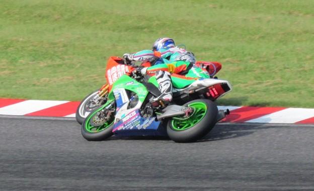 Photos: 2014 鈴鹿8耐 Club Bali Racing 中島洋一 森本潤一 野村裕之 KAWASAKI ZX-10R 73